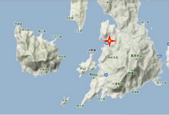 5)大柿町南部 深江薬師寺