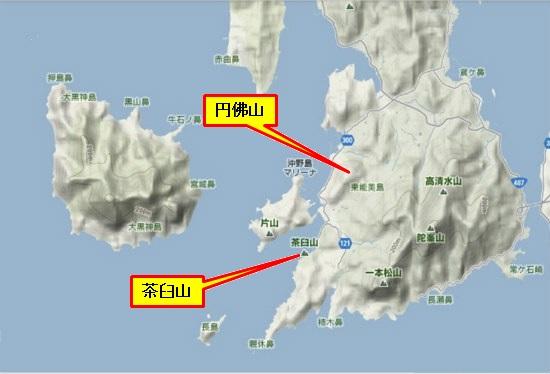 5)大柿町南部 円佛山・茶臼山