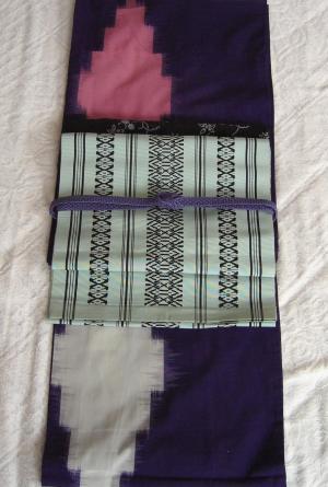 紫紗アンティークコーデ2