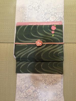 お花見コーデ1