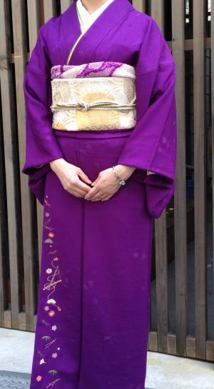 紫コーデ全身