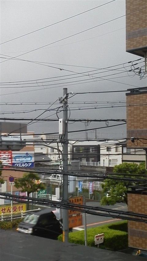 近づく台風