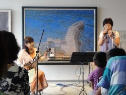 川尻公民館オカリナコンサート20150530-4