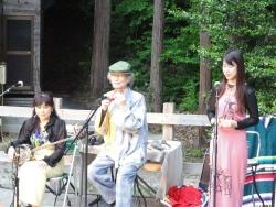 鳴滝露天温泉オカリナコンサート20150523-4b
