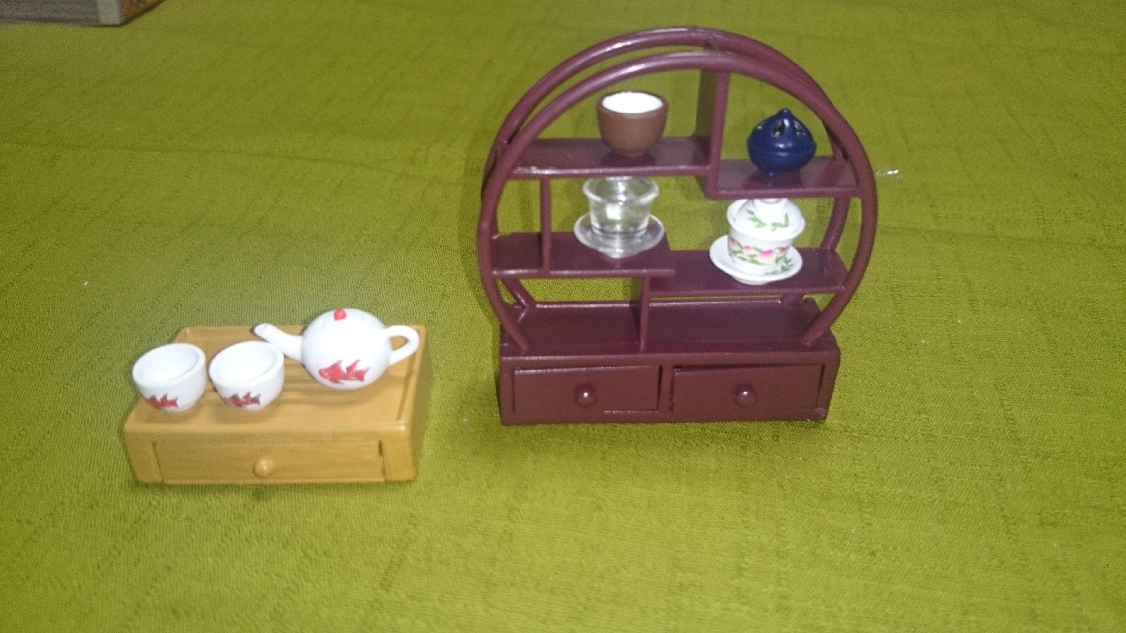 2-1、1157(出来上がり)中国茶器&飾り棚