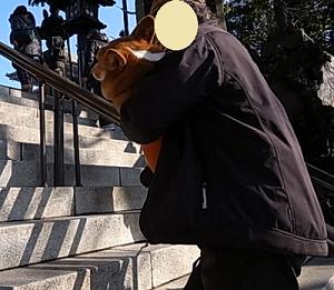 新勝寺階段