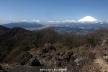富士と愛鷹山群、金時山から