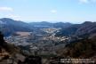 神山と芦ノ湖、金時山から