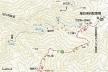 尾白川渓谷マップ