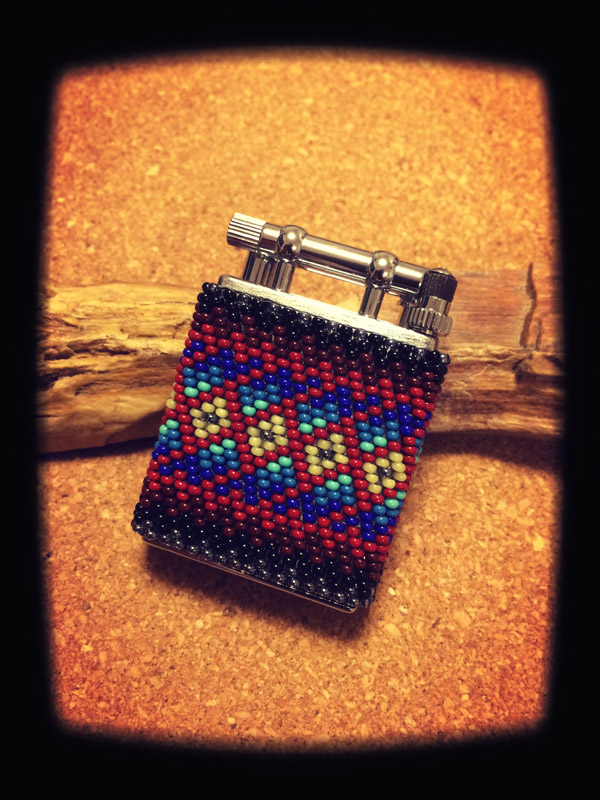 Beaded Oil Lighter 01