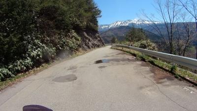 御岳を見ながら走れるK441
