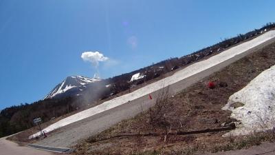 スキー場からの御嶽
