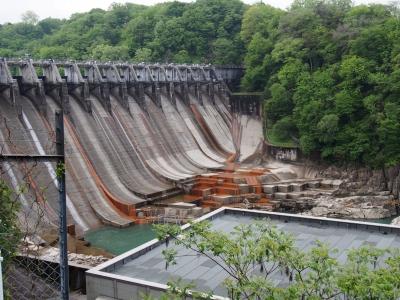 大井ダム全景