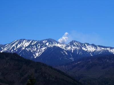 太平御嶽展望台からの御嶽