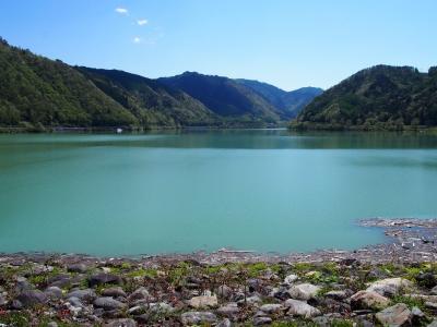牧尾ダム湖