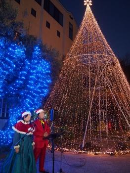 クリスマスコンサートin商店街
