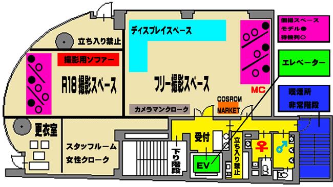ハンドレッド会場内MAP