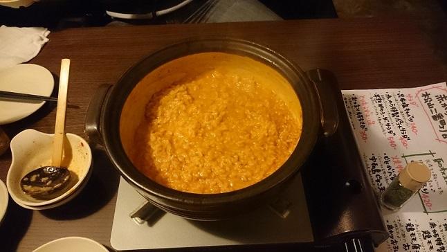 チーズ入りリゾット