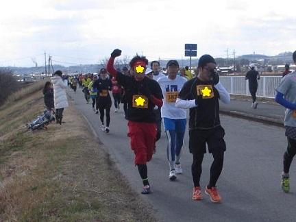 井出さん木津川マラソン