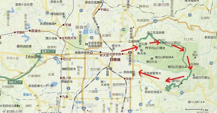 1奈良公園・春日山原始林周遊