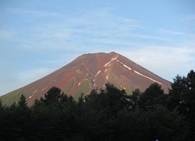 近くで見た富士山