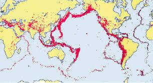 地震発生地帯