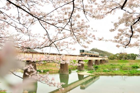 夢前川、三日月 092