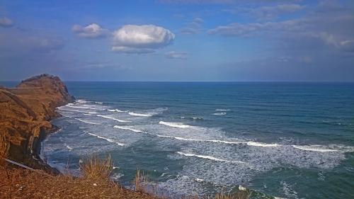 柏崎付近の海