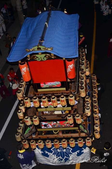 だんじり天幕 古屋敷屋台(古屋敷だんじり) 西条祭り