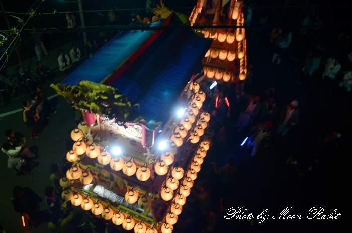 だんじり天幕 上喜多川屋台(上喜多川だんじり) 西条祭り