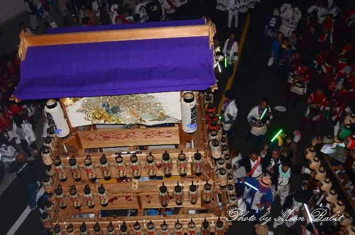 だんじり天幕 花園町屋台(花園町だんじり) 西条祭り