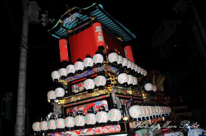 祭り提灯 原之前屋台(原の前だんじり) 西条祭り