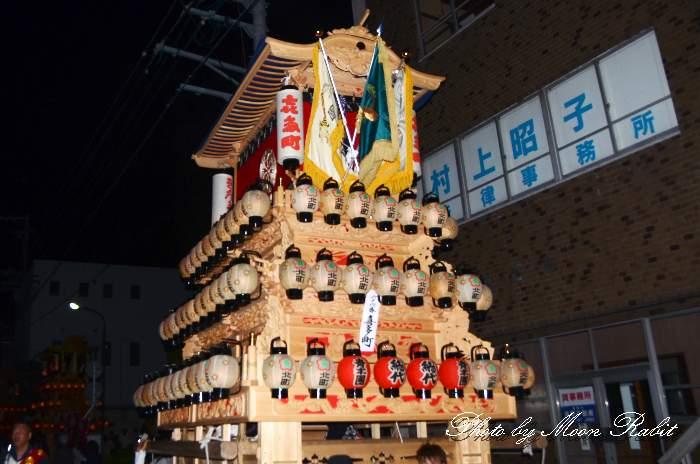 下前後夜祭 喜多町だんじり(北町屋台)