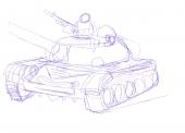 イラクの戦車