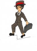 スーツ少女1