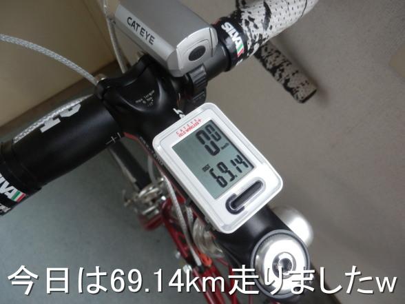20150411 69km走った