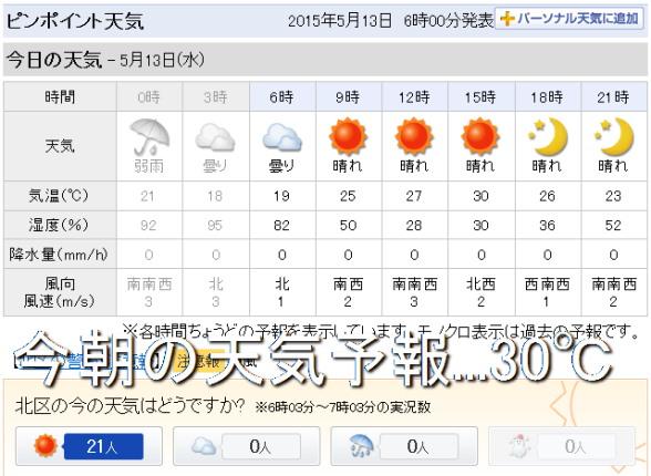 20150513 30℃