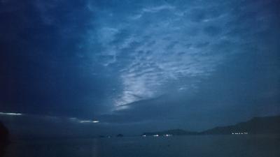 鶴見半島 朝の風景