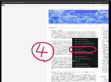 手順④プー閣下による私のブログ記事保存法