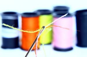縫製 糸 カラフル