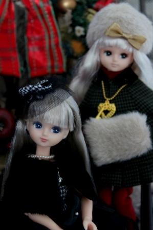 リカ クリスマスドレスセット (2)