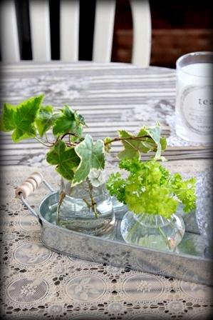 セリア ソーダガラスの小瓶