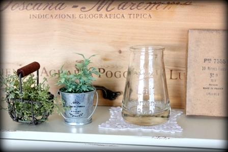 セリア ソーダガラスの小瓶 (3)