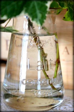 セリア ソーダガラスの小瓶 (4)