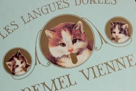 デメル 猫の舌チョコレート (3)