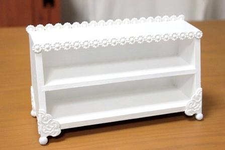 白い家具 ドールハウス ガーリーバージョン (4)