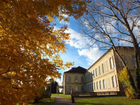 秋のホーエンハイム城1