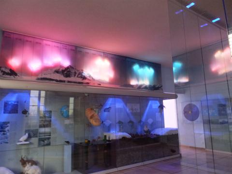 極圏の展示