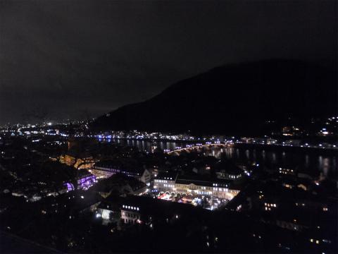 ハイデルベルク夜景