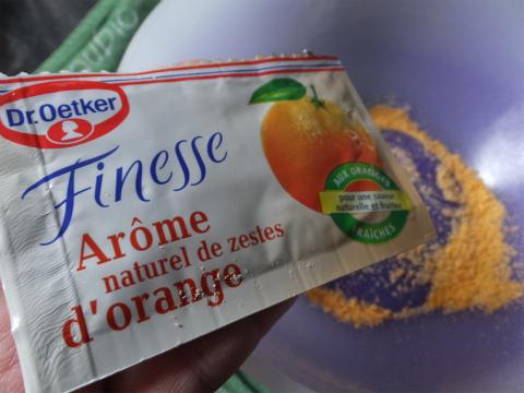 オレンジ砂糖